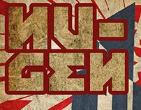 E-book Cover Design:  'Nu-Gen' by A.J. Kirby