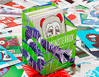 MONSTERBOX – illustrated cards