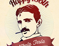 Happy 158th Nicola Tesla!