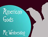 AMERICAN GODS - MR. WEDNESDAY (LOGO)