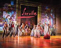 "Cartel ""Sorolla"" para el Ballet Nacional de España"