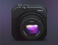 Sony RX100 iOS App Icon