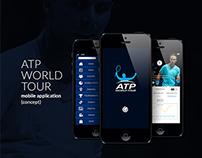 ATP Mobile App (Concept)