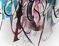 calligraphic painting