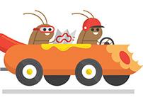 Roach Races