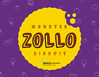 Zollo Monster Biscuit - story board, bilboard, print ad