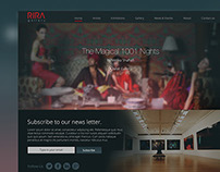 RIRA Art Gallery Website