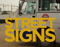 Streetsigns Journal for CUCR at Goldsmiths