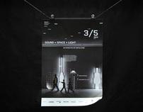 Sound × Space × Light /            Event Identity