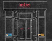 Indikitch Restaurant Branding