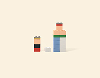 LEGO / Imagine / Poster Campaign & Casefilm