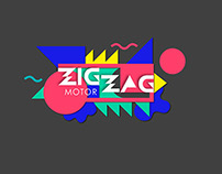 Branding for ZigZagMotor - car redesign station