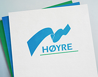 Høyre – 1987 Design (Visual Identity)