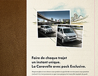 Illustrations for a campagne of Volkswagen
