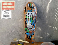 BOARD RESKATED! - HIPNOTIK FESTIVAL EXHIBITION