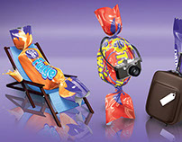 Cadbury Travel Mix Pack 3D Illustrations
