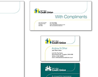 West Lothian Credit Union Stationery