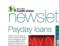 West Lothian Credit Union Newsletter