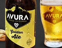 AVURA | Craft Beer Logo and Packaging