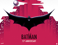 Batman 75th Anniversary Project - Poster Posse