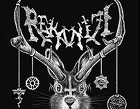 Rekanize T-Shirt Design: Infernal Jackalope