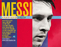 Messi Biopic / Documentary Movie Poster