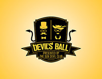 Devil's Ball Event Logo