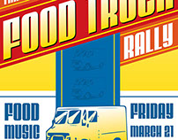 Tampa Bay Food Truck Rally - promotional materials