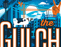 The Gulch- Nashville Neighborhood Poster