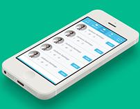 HelloCard iOS app UI Design