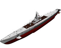 Submarine USS Gato