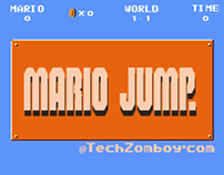 Mario Jump  game design and development