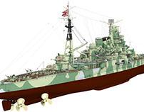 IJN Heavy Cruiser Takao