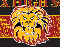 Fairfax High School Marching Band Banner