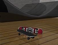 Modelagem De skate 3D