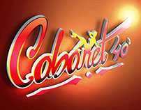 Cabaret 40 Graus - Logo