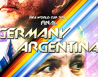 Fifa World Cup 2014 Final Posters
