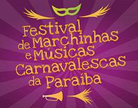 3º Festival de Marchinhas e Músicas Carnavalescas da PB