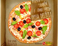 Datas Comemorativas - Dia da Pizza - 10 de julho