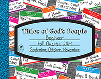 Cover - Titles of God's People