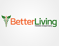 Better Living Logo Design