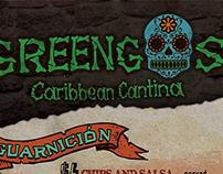 Greengos Caribbean Cantina Menu