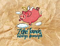 Zeke Tamás / Butcher Graphic Identity