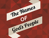Cover - The Names of God's People (Not Used)