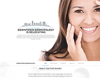 Web Design: Dr. Rainey Holding Website