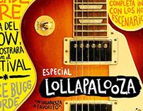 Especial Lollapalooza / Diario El Mercurio
