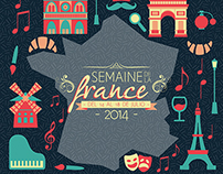 Semaine de la France 2014 / Visual identity