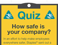 Responsive Infographic: How safe is your company?
