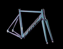 PURE Track bicycle design