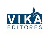 Construcción de Logotipo  •  VIKA EDITORES